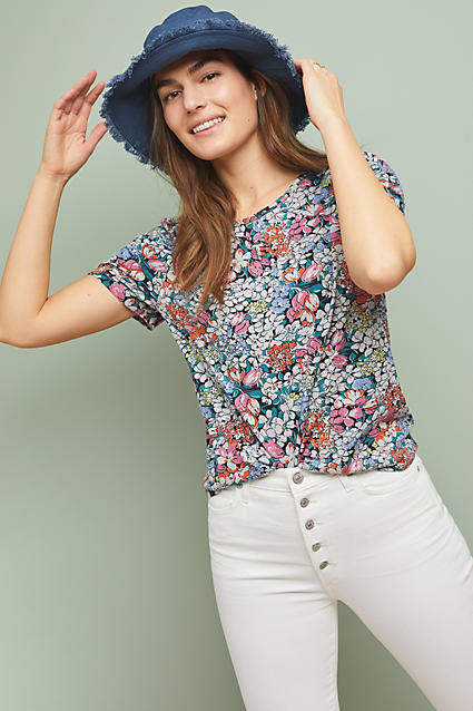 Anthropologie 52 Conversations by Colloquial Tee