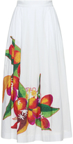 Isolda Rio Midi Applique Skirt