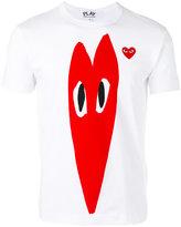 Comme des Garcons heart print T-shirt - men - Cotton - S