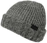 Firetrap Mens Fishermans Beanie Knitted Hat Snow Winter Warm Accessories