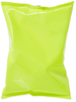 Anya Hindmarch Crisp Packet Neon Convertible Clutch