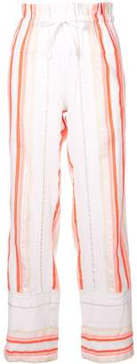 Lemlem Fiesta striped beach trousers