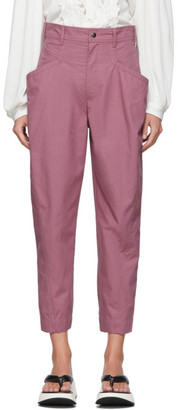 Isabel Marant Purple Gubaia Trousers