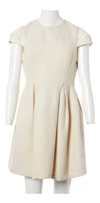 Erdem Beige Cotton Dresses
