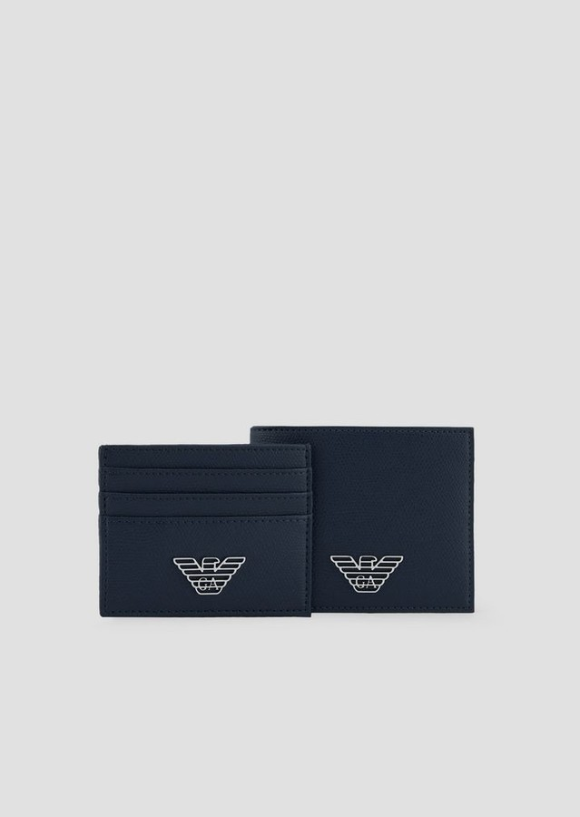 69ef7b8ffc Gift Box Composed Of Wallet And Cardholder In Pvc With Metallic Logo