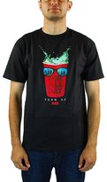 DGK Men's Turn Up T Shirt Black L