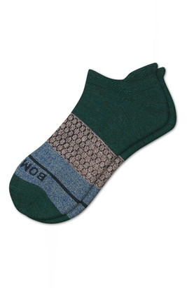 Bombas Colorblock Wool Blend Tab Ankle Socks