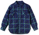 Stella McCartney blue hunter check shirt