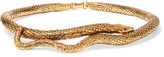 Aurelie Bidermann Tao Gold-plated Choker - one size