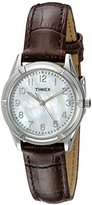 Timex Women's TW2P763009J City Collection Watch with Brown Strap