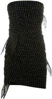 Philosophy di Lorenzo Serafini Slim-fit Gathered Polka-dot Dress