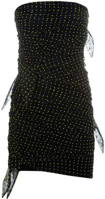 Philosophy di Lorenzo Serafini Slim-fit Gathered Polka-dot Dress