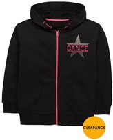 Very Zip Through Glitter Dance Hoody
