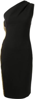 HANEY Mila one-shoulder dress