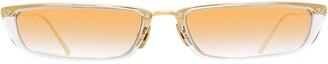 Linda Farrow Issa rectangular-frame sunglasses