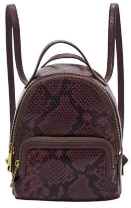 Fossil Maisie Mini Backpack Handbags Snake