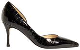 Karen Millen Croc Stiletto Heeled Court Shoes