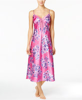 Thalia Sodi Lace-Trimmed Printed Nightgown, Created for Macy's