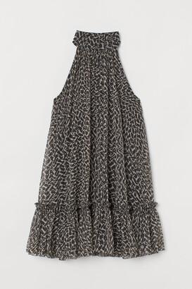 H&M A-line chiffon dress