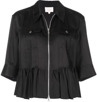 Cinq à Sept Helene peplum jacket