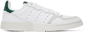 adidas White Supercourt Sneakers