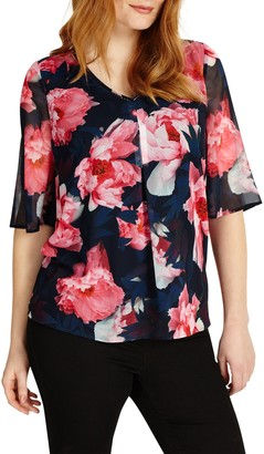 Studio 8 Iona Floral Print Blouse, Multi