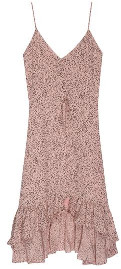 Rails Frida Dress Rose Spotted - large
