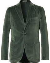 Boglioli Unstructured Cotton-Velvet Blazer