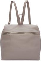Kara Pink Leather Large Backpack