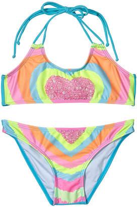 Pilyq Printed Crewneck Bikini