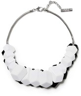 Lafayette 148 New York Women's Cubist Reversible Statement Necklace