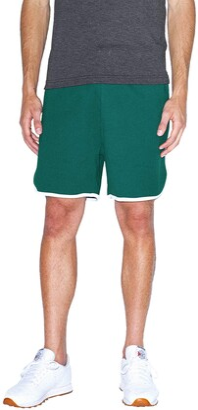 American Apparel Men's Interlock Basketball Shorts