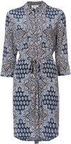 L'Agence floral print shirt dress - women - Silk - S