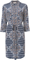 L'Agence floral print shirt dress - women - Silk - XS