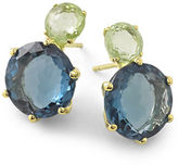 Ippolita 18k Rock Candy 2-Stone Post Earrings