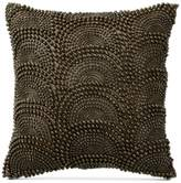 "Donna Karan Exhale Taupe 12"" Square Decorative Pillow"