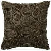 "Donna Karan Exhale Taupe 12"" Square Decorative Pillow"