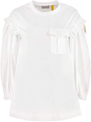 Moncler Ruffled Long Sleeve T-shirt