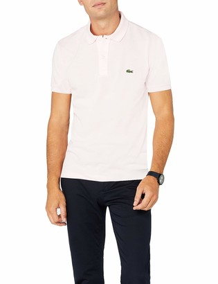Lacoste Ph4012 - Polo Shirt - Men Gray (Silver China) XXX-Large (Size Manufacturer: 8)