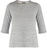 A.P.C. Ida short-sleeved cotton-blend sweatshirt