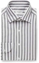 De Petrillo Fortino Slim-Fit Striped Cotton Shirt