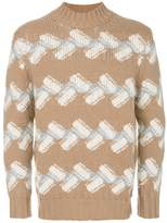 Drumohr patterned jumper