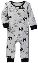 Boppy Elephant Doodle Thermal Coverall (Baby Boys)