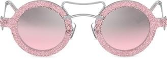 Miu Miu round Scenique sunglasses