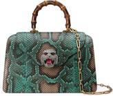 Gucci Python top handle bag