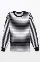 Obey 89 Icon Box Striped Long Sleeve T-Shirt