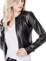GUESS Women's Ivonne Faux-Leather Jacket