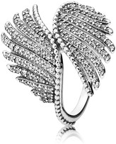Pandora Ring - Sterling Silver & Cubic Zirconia Majestic Feathers