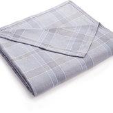 Calvin Klein Dusk Plaid King Blanket