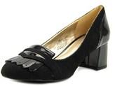 Bandolino Odonna Women Round Toe Synthetic Black Heels.